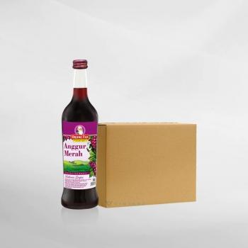 Promo 1 Ctn ( 12 Btl ) Anggur Merah Cap Orang Tua 620 Ml
