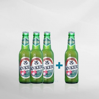PROMO Anker Lychee Btl 330 ml BUY 3 GET 4 !!!