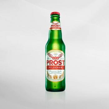 Prost Pilsener Beer 620 ml
