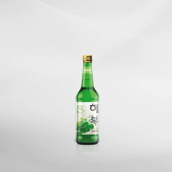 Happy Soju Green Grape 360 ml