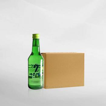 Promo 1 Ctn ( 20 Btl ) Seven Days Soju Grape 360 ml