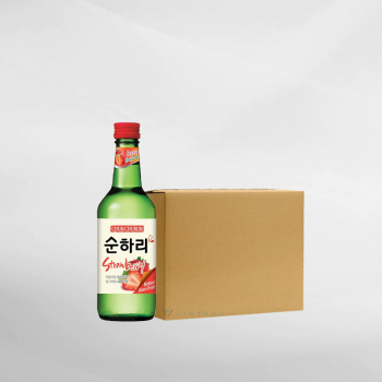 Promo 1 Ctn ( 20 Btl ) ChumChurum Soju Strawberry 360 ml