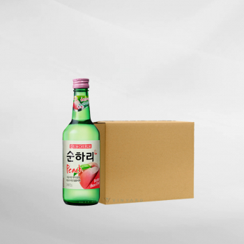 Promo 1 Ctn ( 20 Btl ) ChumChurum Soju Peach 360 ml