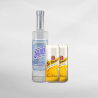 Promo Bali Moon Silver Gin 700 ml + 2 Pcs Schweppes Tonic Water 330 ml