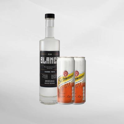 Promo Bali Moon Blanco Rum 700 ml + 2 Pcs Schweppes Ginger Ale 330 ml