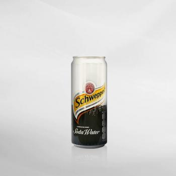 Schweppes Soda Water 330 ml