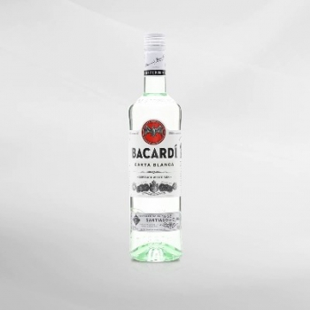 Bacardi Carta Blanca Light Rum 750 ml